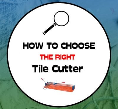 Right tile cutter