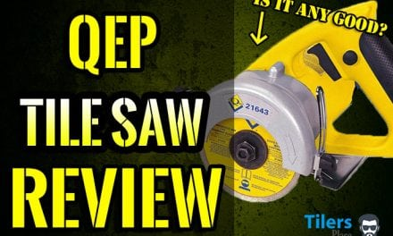 QEP Handheld Tile Saw – A Professional's Review
