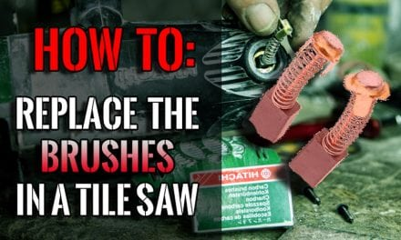 How To Change The Brushes In A Tile Saw