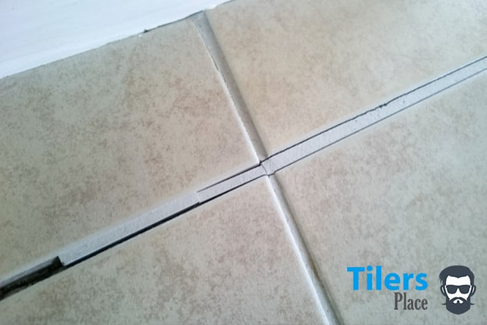 A grout line like this is asking to be replaced. With the right grout remover you can do it easily.
