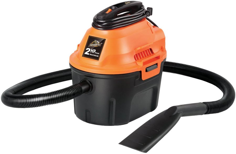 A wet and dry vacuum cleaner is essential for grout removal