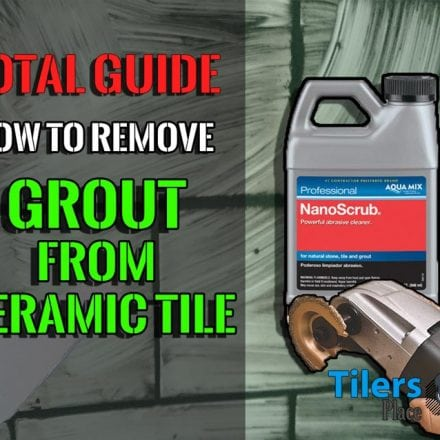 Remove Grout From Ceramic Tile | Professional Tile Grout