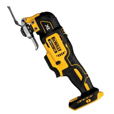 Cordless electric grout removal tool.