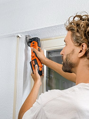 Fein multimaster oscillating multi-tool works great for preparing areas for paint.