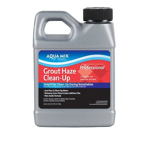 you can remove grout haze from tiles with this grout haze remover product.