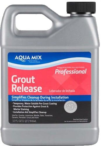 aquamix grout release.
