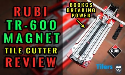 Rubi Tools TR-600 Magnet Tile Cutter – Full In-Depth Review