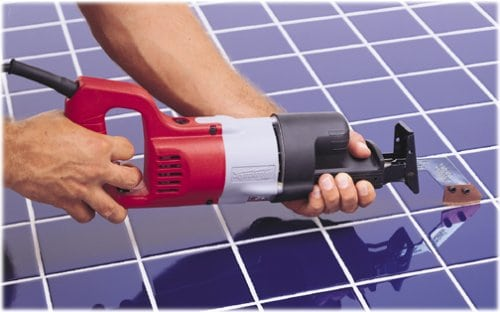 Grout grabber as a grout removal product