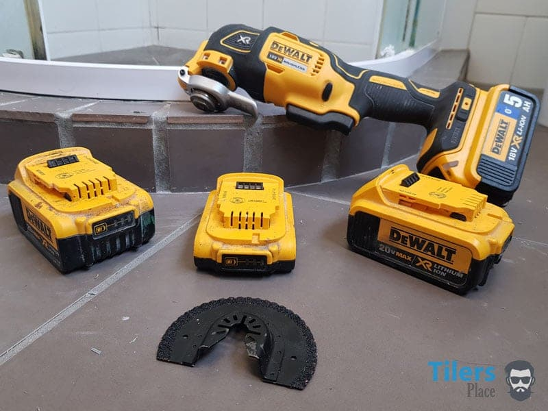 Removing grout is easy with quality power tools and the right know-how