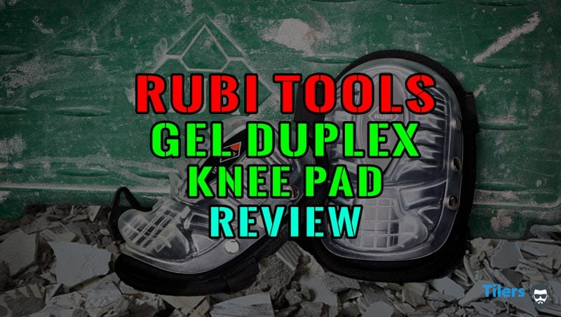 Rubi Gel Duplex Knee Pads for work