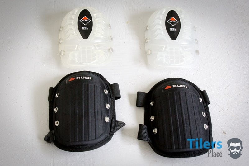 The Rubi Gel Duplex knee pads are two sets of knee pads in one.