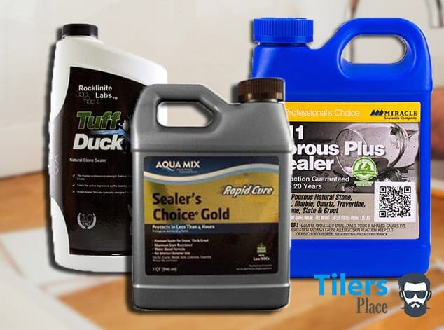 There are a range of grout sealers for all types of tiles and grout.