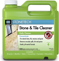 Stonetech cleaner for grout sealer