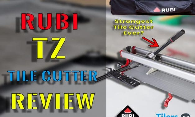 Rubi TZ Tile Cutter Review | Best Tile Cutter For Porcelain Pedestal Tiles