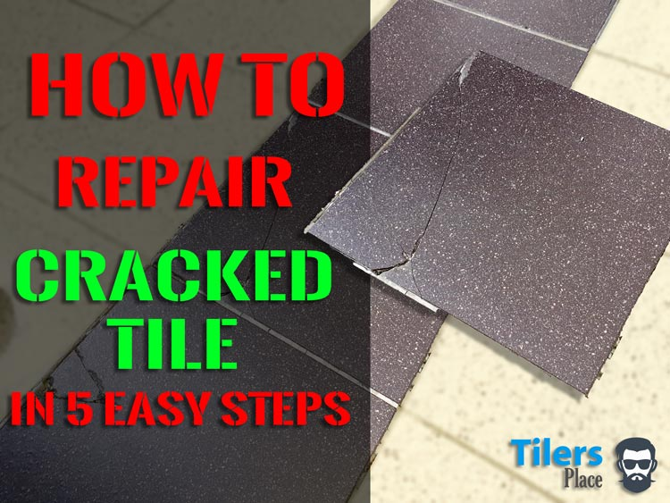 how to replace broken tile